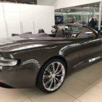 Siêu xe Aston martin DB9 volante mui trần màu hiếm về Hà Nội