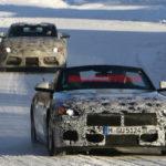 Xe sang BMW Z5 chạy thử nghiệm trên đường tuyết