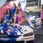 Những đôi chân dài ở triển lãm xe Motorsport Expo 2017