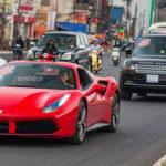 Dàn siêu xe 70 tỷ đồng trong đám cưới đại gia Hà Nội