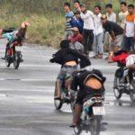 Hành vi đua xe trái phép bị phạt như thế nào ?
