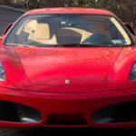 Siêu xe Ferrari F430 màu đỏ của tổng thống Mỹ Trump được rao bán