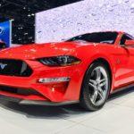 Phiên bản nâng cấp xe Ford Mustang 2018 lộ diện thực tế