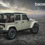 Xe Jeep Wrangler Rubicon Recon cho người mê xe địa hình