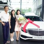 Diễn viên Cao Thái Hà mua xe sang Mercedes E200