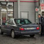 Xe sang Mercedes E class đời 1992 chạy 1 triệu Km vẫn dùng tốt