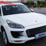 """Biến xe Zotye SR9 thành Porsche Macan """"xịn"""" giá vài trăm nghìn"""