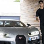 Ronaldo lái thử Bugatti Chiron chuẩn bị mang về Gara ?