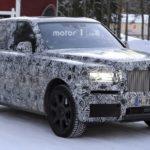 Rolls royce SUV gần hoàn thiện xuất hiện trên đường thử