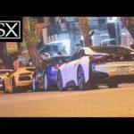 Choáng ngợp hàng chục siêu xe của đại gia Sài Gòn đón tiếp Gia Lai Team