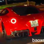 Siêu xe Ferrari F12 của Cường đôla nẹt pô, tăng tốc ấn tượng