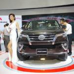 Xe Toyota Fortuner mới bán được 1.237 xe ở Việt Nam tháng 1/2017