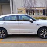 Xe Honda UR-V cỡ lớn xuất hiện ngoài đời thực