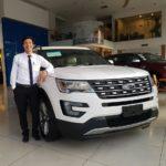 Xe Ford Explorer 2017 về đại lý chính hãng ở Việt Nam
