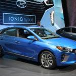 Ngắm ảnh thực tế xe lai điện Hyundai Ioniq Hybrid 2017