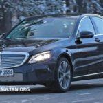 Mercedes C-Class bản nâng cấp lộ diện trên đường thử