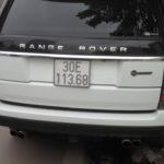 Cặp xe siêu sang Range rover SVautobiography ở Hà Nội