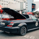 Xe sang Mercedes S class độ thành xe bán tải độc đáo