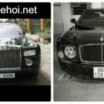 Bentley Mulsanne và Rolls royce Phantom trên phố Bắc Ninh