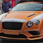 Siêu xe Bentley Continental Supersports 2017 lộ nhiều ảnh thực tế