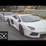 Ngắm 4 siêu xe Lamborghini khủng nẹt pô trên phố Sài Gòn