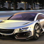Siêu xe Saab AiroX Autonomous tuyệt đẹp và lái tự động