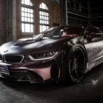 Siêu xe BMW i8 độ cực ngầu với màu tím