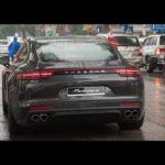 Ngắm siêu xe Porsche Panamera Turbo 2017 dạo phố Hà Nội