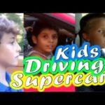 Top 10 em bé lái siêu xe gây xôn xao trên mạng xã hội
