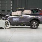 Xe Honda CR-V 2017 được đánh giá rất an toàn