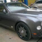 Xe siêu sang Bentley Mulsanne màu xám hiếm về Việt Nam