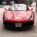 Siêu xe Ferrari 488 GTB xuất hiện ở Hưng Yên
