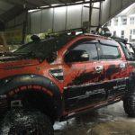 Xe Ford Ranger độ khủng như Hummer ở Thái Nguyên