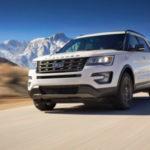 Khám phá những điểm mới trên xe Ford Explorer 2018