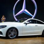 Ngắm xe Mercedes E300 Coupe 2017 ngoài đời thực