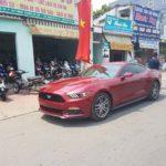 Xe thể thao Ford Mustang 2016 màu mận chín về Bình Dương