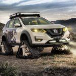 Nissan X-Trail độ kiểu bánh xích như xe tăng