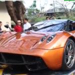 Ngắm chi tiết siêu xe Pagani Huayra của đại gia Minh nhựa đi gắn biển