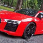 Siêu xe Audi R8 V10 Plus đỏ rực trên phố Sài Gòn