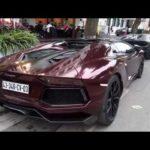 Lamborghini Aventador mui trần đổi màu nâu cực độc ở Hà Nội