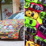 Đại gia phủ nghìn xe ô tô mô hình lên xe sang Jaguar
