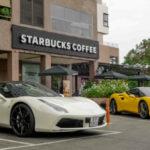 Siêu xe Ferrari 488 GTB mới và cũ của Cường đôla gặp gỡ nhau