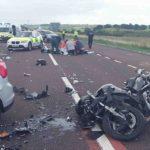 Biker chết vì phóng xe nhanh đâm vào rào chắn