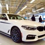 Xe sang BMW 5-Series 2017 rất an toàn