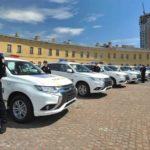 Cảnh sát Ukraine mua 635 xe chạy điện Mitsubishi Outlander PHEV