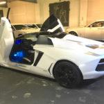 Siêu xe Lamborghini Aventador mui trần hàng giả giá hơn 1 tỷ đồng