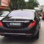 Maybach S600 giá 16 tỷ đến Thái Nguyên chơi gây chú ý