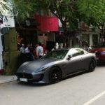 Siêu xe Maserati GranTurismo giá 5 tỷ đồng xuất hiện ở Thanh Hóa