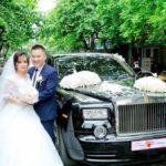 Xe siêu sang Rolls royce Phantom từ Hà Nội về đón dâu ở Phú Thọ