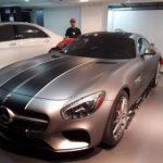 Xem siêu xe Mercedes-AMG GT S của Cường đôla tăng tốc trên phố